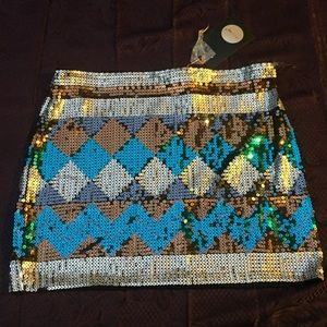 Dresses & Skirts - NEW w/tags! ENVY ME Sequined Skirt